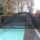 Schwimmbadueberdachung Modell c8